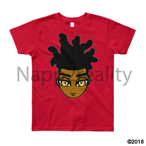 Loc Boy Youth Short Sleeve T-Shirt Red / 8Yrs