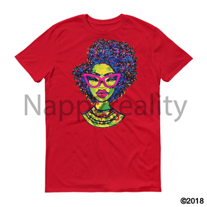 Fashion Fro Short-Sleeve T-Shirt Red / S