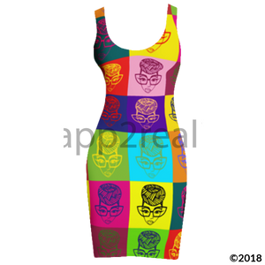 Genius Pop Culture Tank Dress
