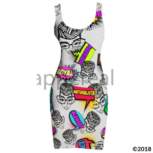 Genius Pop Art Tank Dress