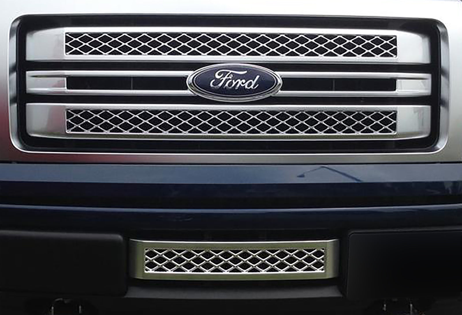 2009-2014 F150 Mesh Lower Grille / Platinum