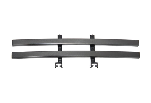 2009-2014 F150 2-Bar Lower Grille / Metallic Grey