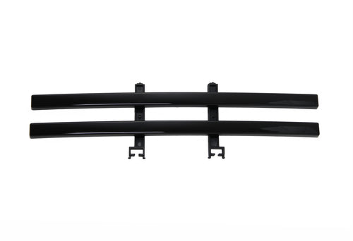 2009-2014 F150 2-Bar Lower Grille / Glossy Black