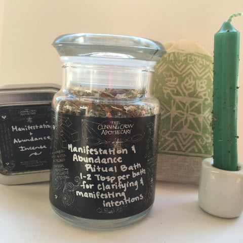 Manifestation & Abundance Spell Kit