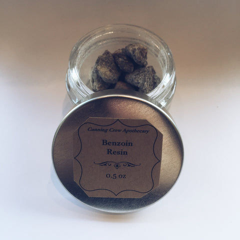 Benzoin Resin 1/2 oz. Jar