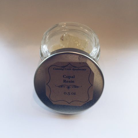 Copal Resin 1/2 oz. Jar
