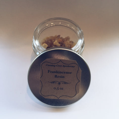 Frankincense Resin 1/2 oz. Jar