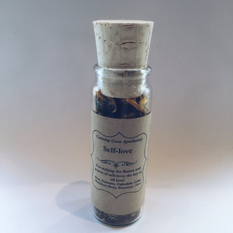 Self-Love Incense Blend Vial