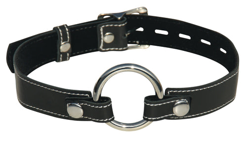 Edge Leather Seamless O-ring Gag !!NEW!!