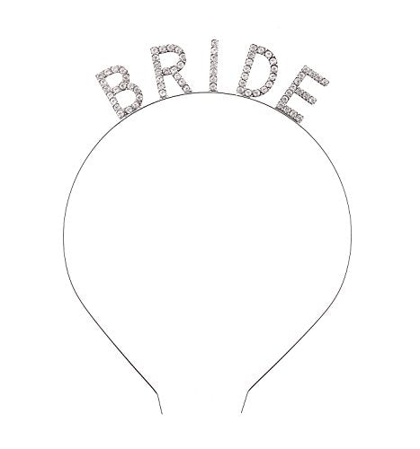 Bridal Headband Tiara with Sparkling Rhinestone
