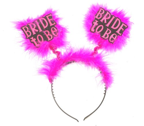 Bride to Be Pink Headband for Bachelorette Party