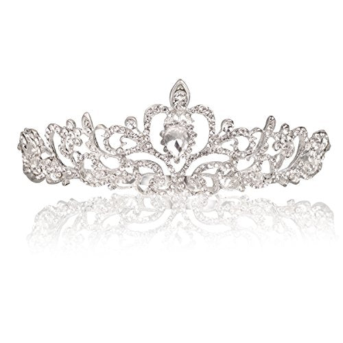 Crystal Tiaras with Tomb Headband