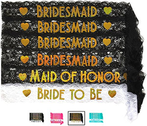 Bride & Bridesmaid Sash Set