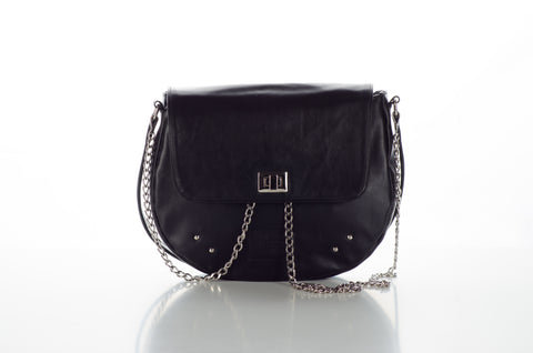 KATE Saddle Bag Black
