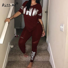 Casual Sport Suit Gym Wear Set