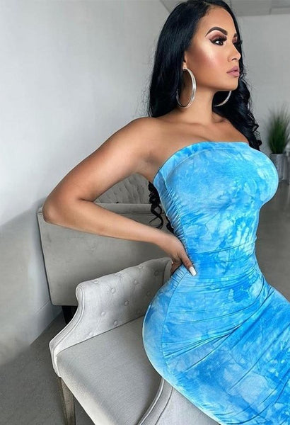 Strapless Clubwear Sexy Hot Party Dress