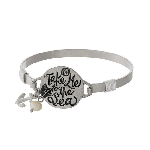 Take me to the Sea Bangle Bracelet