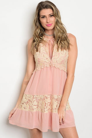 Dreams Do Come True Lace Dress