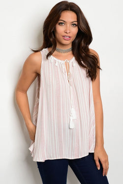 A Touch of Class Loose Fit Tank Top
