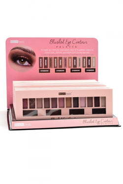BLUSHED EYE CONTOUR PALETTE MATTE AND SHIMMER EYESHADOW