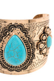 Accessory Approved Gemstone Cuff Bracelet