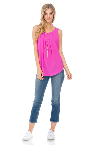 Escape to Beauty Pink Top