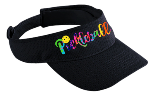 Pickleball Tie-Dye Visor