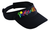 Pickleball Tie-Dye Embroidered Visor