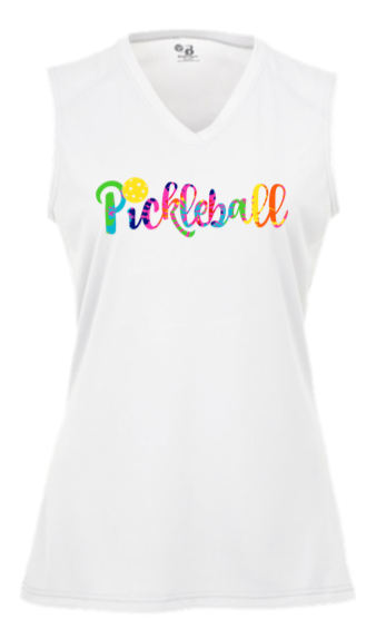 Pickleball Tie-Dye Dri-Fit Shirt