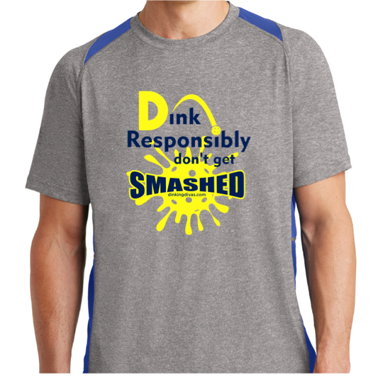 Dink Responsibly Men's Dri-Fit Shirt