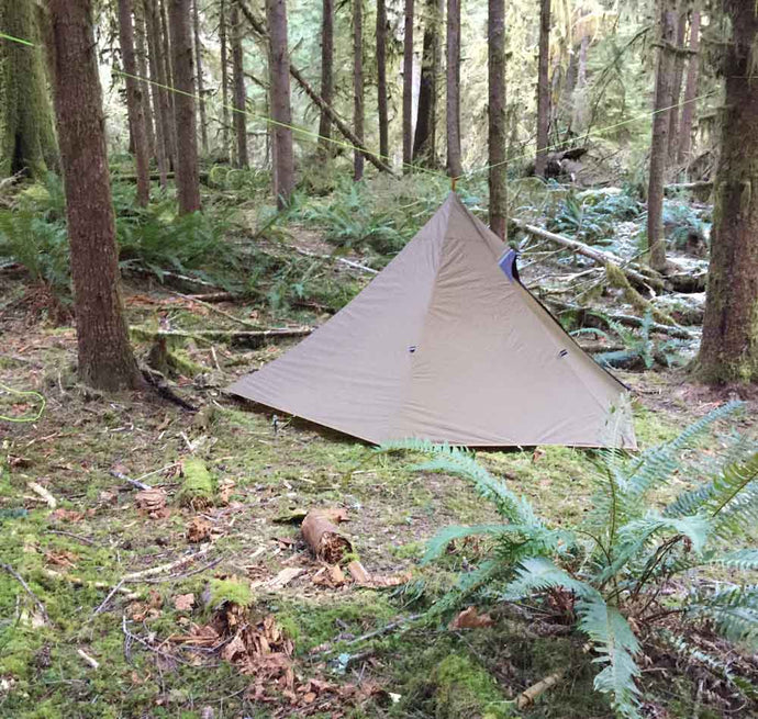 Pitch Teepee (Using Cord) Without Tent Poles Video