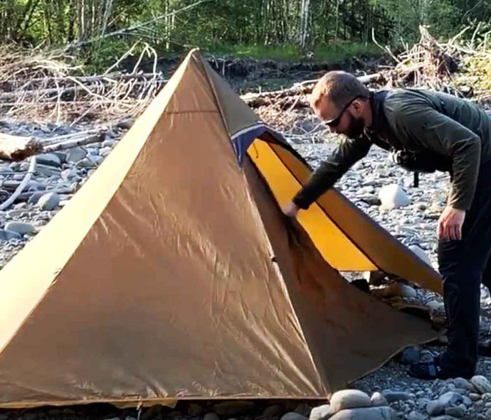 Ultralight Elk Backpack Hunt Scouting Rock Pitch Tips Video