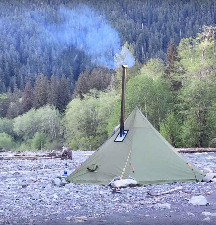 Hexpeak XL Tipi (Quick Overview) Video