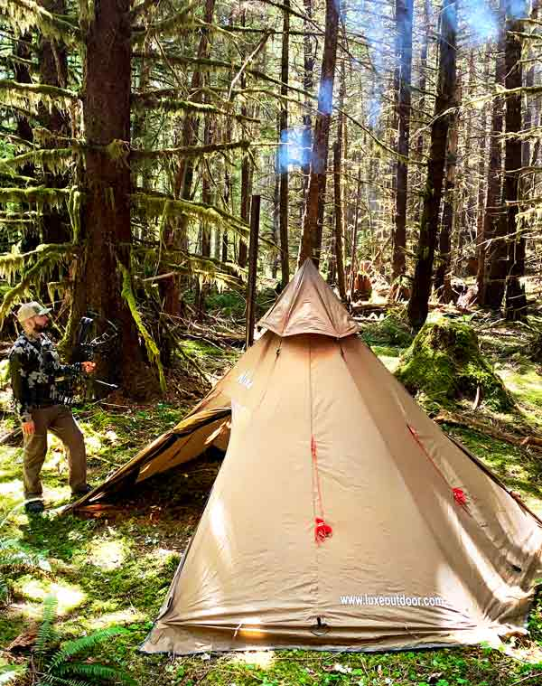 Hunting Tent: Megahorn Tipi 4-person Video