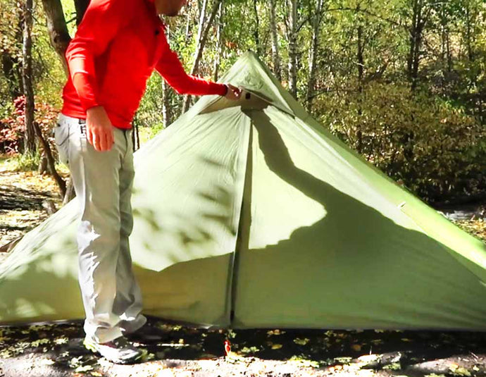 Minipeak Pyramid Tent (User Guide) Video