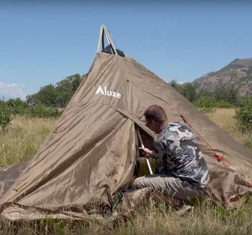 How NOT (3 Mistakes) to Set Up a Tipi Video