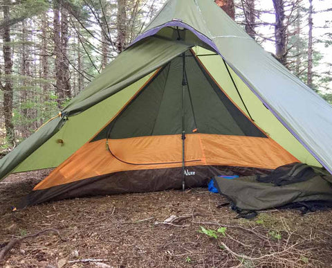 Double wall tent using inner