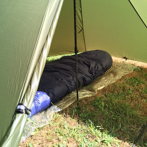 Ground Cloth in Floorless Tent & Why Use Tent (Ground Cloth) Footprint u2013 Luxe Hiking Gear