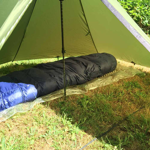 Groundsheet with Ultralight Tarp Tent