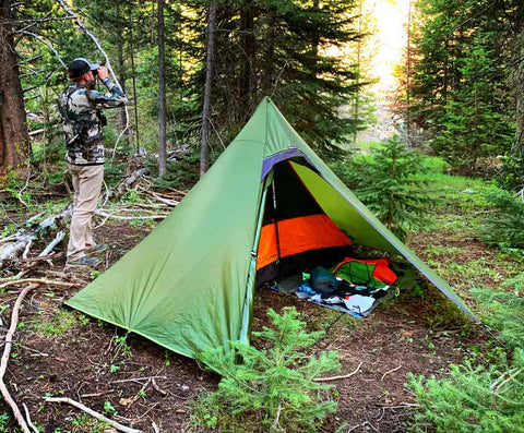 Hexpeak Ultralight Hunting Tipi 2-person