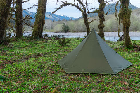 Luxe Hexpeak Tipi Tent Backpacking