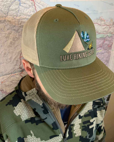 Luxe Trucker Hat in Hunting Colors