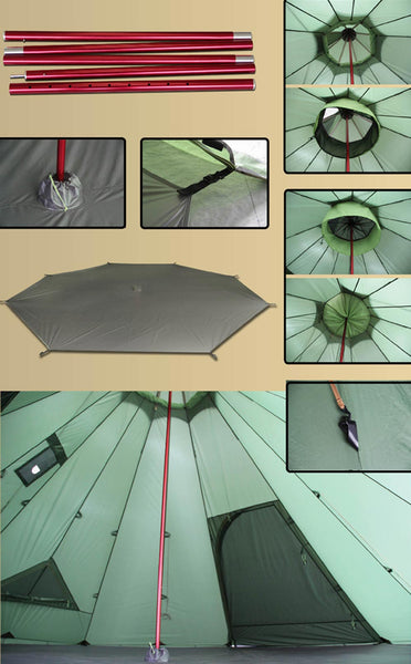 Megahorn XL Tipi Removable Floor