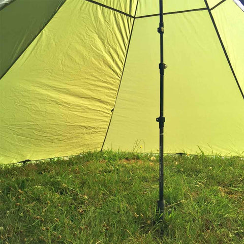 Middle-Link Used to Build Ultralight Tent