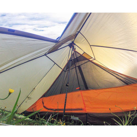 Minipeak Pyramid Tent 2p For Backpacking Luxe Hiking Gear