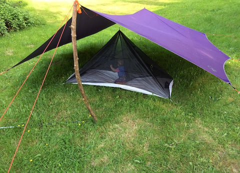 Mosquito Net Under Tarp & Attach Bug Net (Hacks) for Any Teepee or Tarp u2013 Luxe Hiking Gear