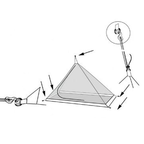 Pyramid Inner Tent Hooks and Attachments