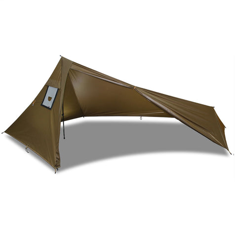 Rocket XL Tarp Side Door Open
