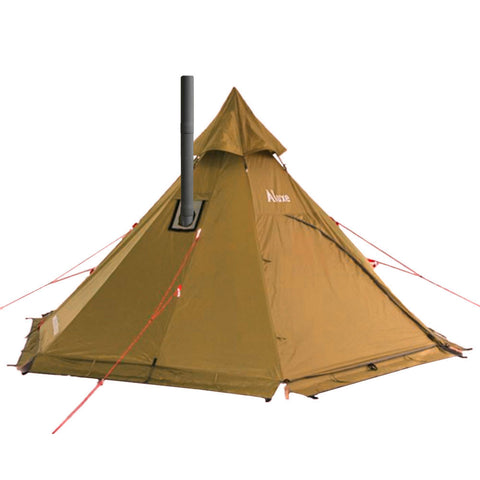 Teepee Tent with Wood Stove  sc 1 st  Luxe Hiking Gear & Lightweight Tent (Guide) Wood Stoves 2018 u2013 Luxe Hiking Gear