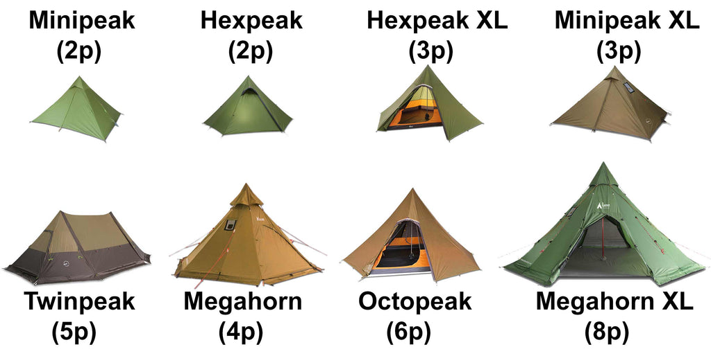 online store 79342 df32b Comparing Our Teepee Tent Models 2019 – Luxe Hiking Gear